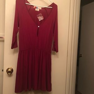 Free People FP Beach NWOT dress w/ pockets Sz Med